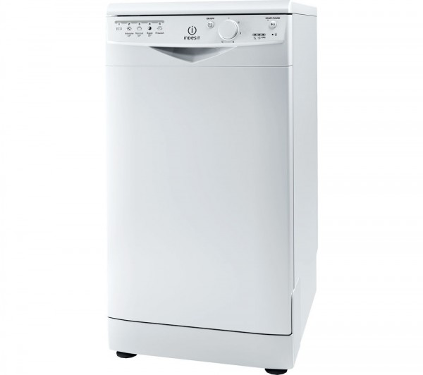 Indesit DSR15B Slimline white dishwasher