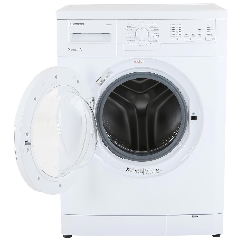 Standard Washing Machine Width Blomberg Washing Machine Lords Electrical Direct