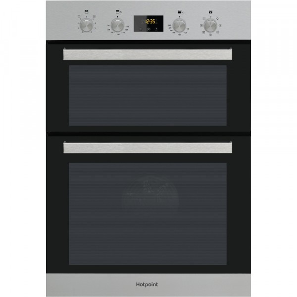 Hotpoint DKD3841IX Built in Inox double oven