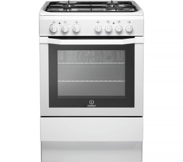 Indesit I6GG1W 60cm Gas Cooker