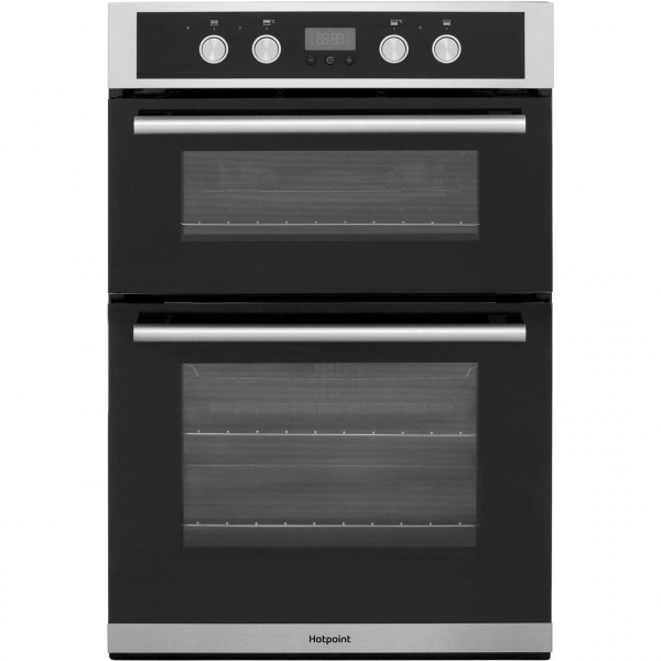 Hotpoint DD2844CIX Built in Inox double oven
