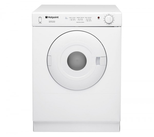 Hotpoint V4D01P 4Kg Compact Vented Tumble Dryer
