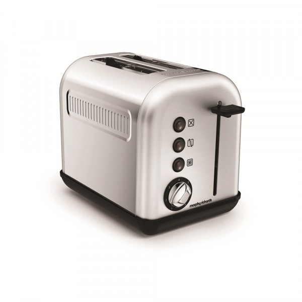 Morphy Richards 222006 Brushed 2 Slice Accents Toaster