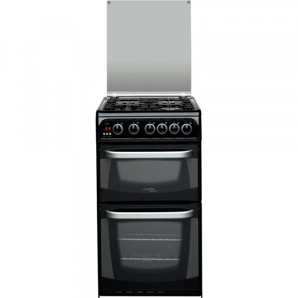 Cannon CH50GCIK Carrick Gas Cooker In Black