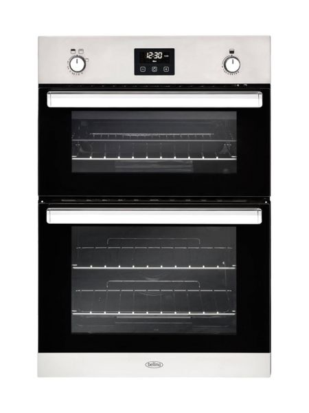 Belling BI902GSS Built in Gas Double Oven in Stainless Steel