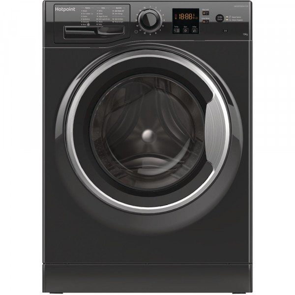 Hotpoint NSWM1043CBSUKN 1400 Spin 10kg Washing Machine