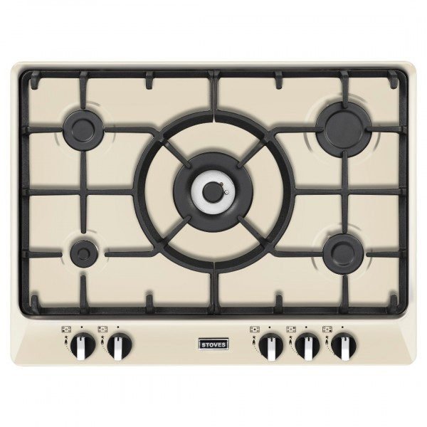 Stoves ST RICH 700GH Richmond gas hob in Cream