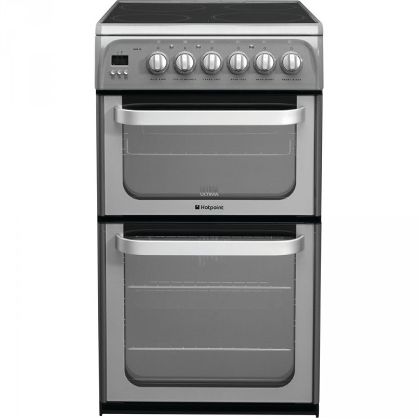 Hotpoint HUE52GS double cooker in Graphite