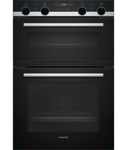 Siemens MB557G5S0B Integrated Double oven in Black