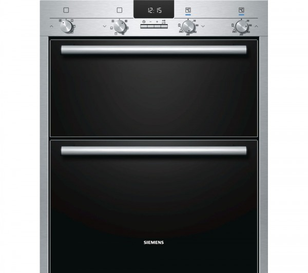Siemens HB43NB520B Built under Stainless Steel double oven