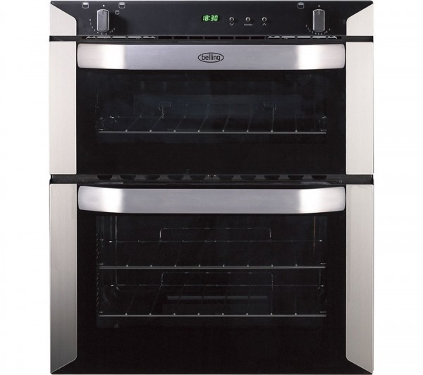 Belling BI70GSTA Built Under Gas Double Oven in Stainless Steel