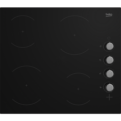 Beko CIHYV21B Black frameless ceramic hob