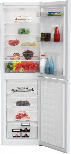 Zenith ZCS3582W 54cm Fridge Freezer