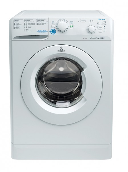 Indesit XWB71252W 1200 Rpm 7kg Washing Machine