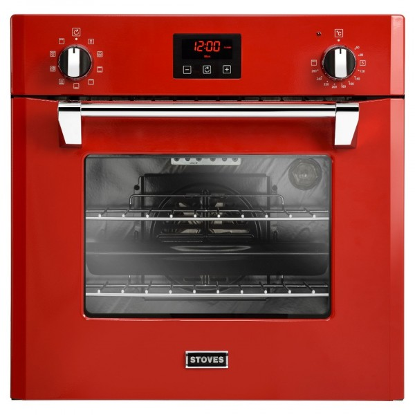 Stoves ST RICH 600MF 60cm Single Oven in Red