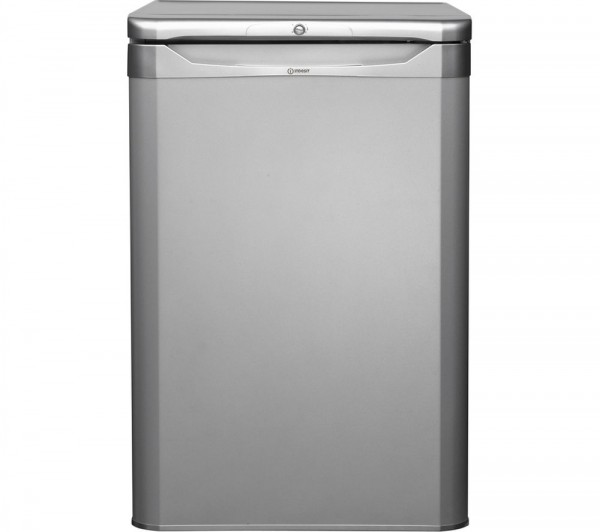 Indesit TLAA10S Larder fridge in Silver
