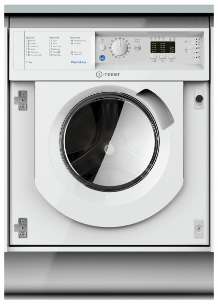 Indesit BIWDIL75125UKN 1200 Rpm 7kg Washer Dryer