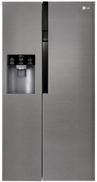 Lg GSL360ICEV Side by side Fridge freezer in Graphite