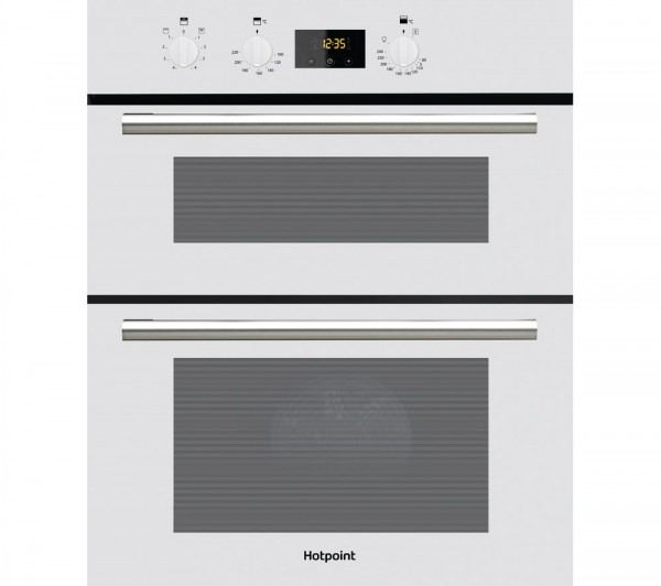 Hotpoint DU2540WH Built under White double oven