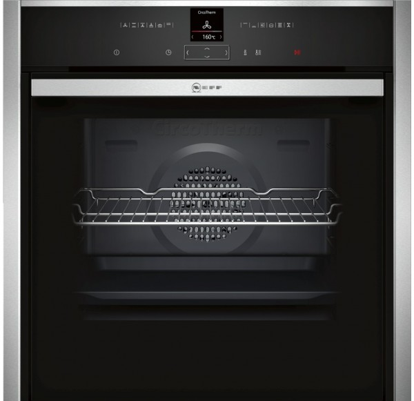 Neff B47CR32N0B Single Built in oven in Stainless Steel