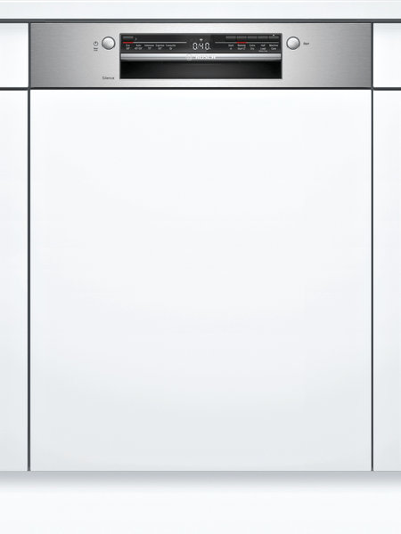 Bosch SMI2ITB33G Semi-Integrated Dishwasher in Black