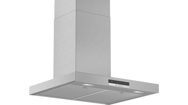 Bosch DWB66DM50B Box Chimney hood in Brushed Steel