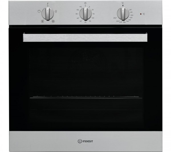 IND-IFW6330IX Built in Silver Single oven