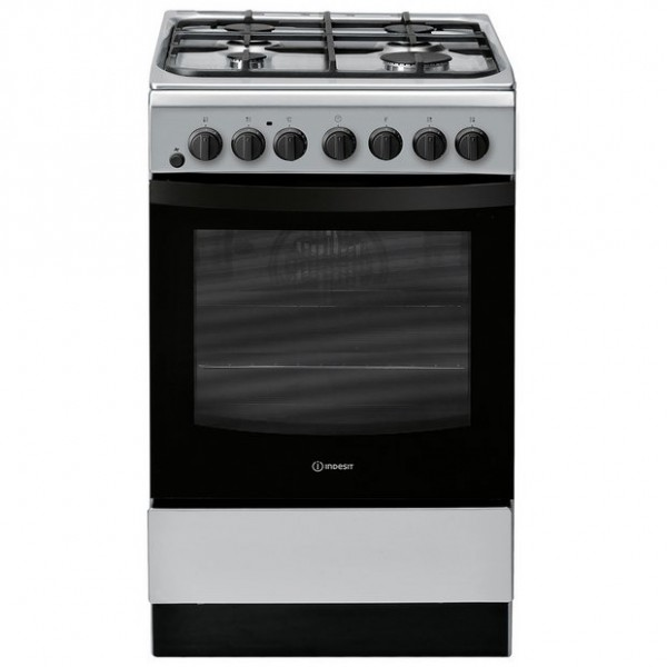 Indesit IS5G4PHSS Dual Fuel 50cm Cooker