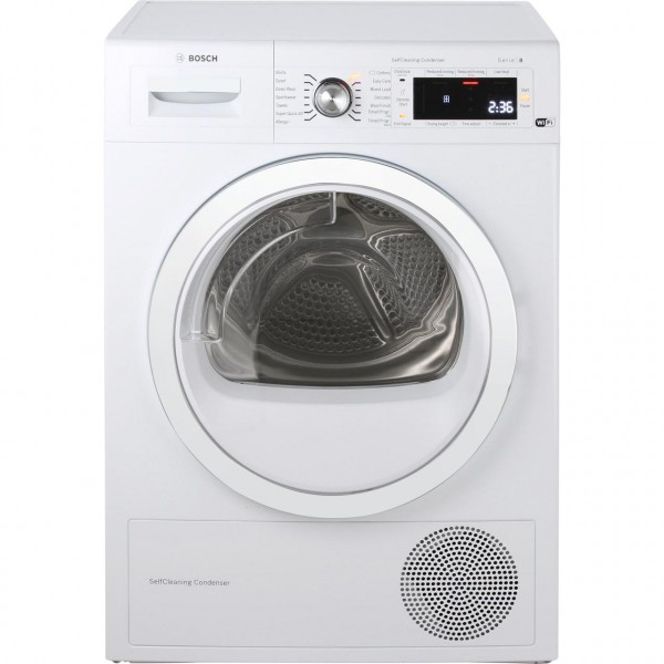 Bosch WTWH7560GB 9Kg Heat Pump Condenser Dryer