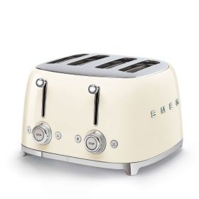 SMEG TSF03CR 4 SLICE CREAM TOASTER
