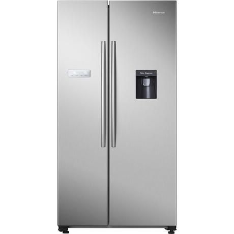 HISENSE RS741N4WC11 AMERICAN STYLE FRIDGE FREEZER STEEL