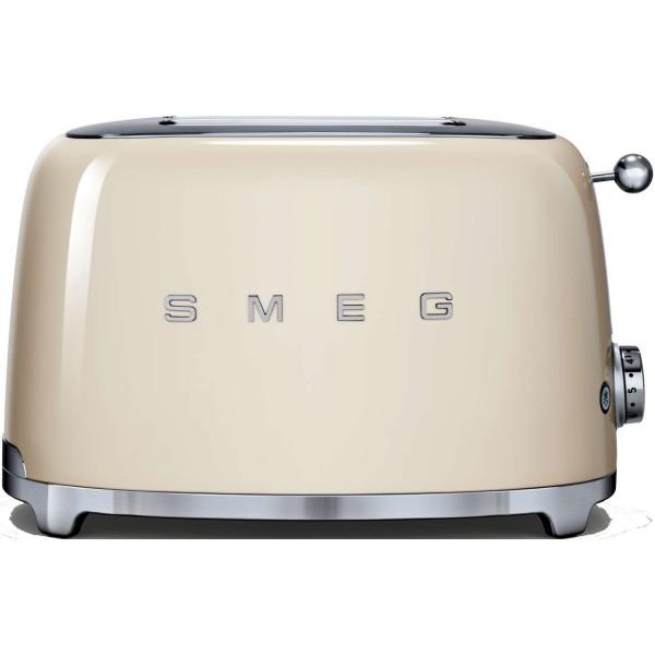 smeg tsf02cruk cream 4 slice toaster toasters small appliances mccoubreys. Black Bedroom Furniture Sets. Home Design Ideas