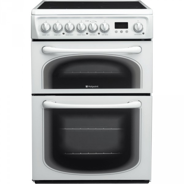 Hotpoint 60HEP Cooker Ceramic Double Oven 60cm