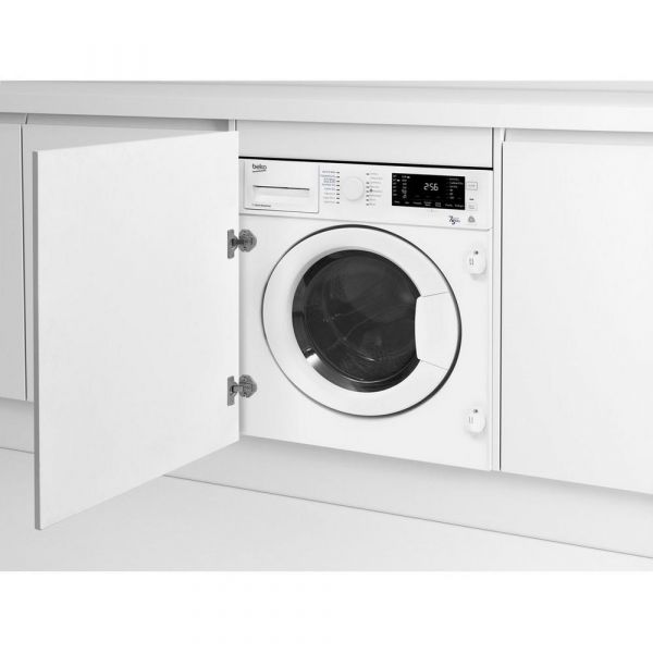 BEKO WDIC752300F2 INTEGRATED WASHER DRYER 7KG+5KG