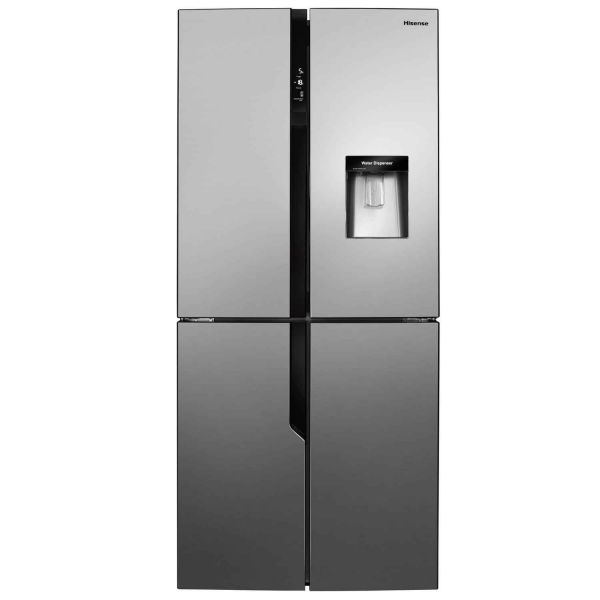 HISENSE RQ560N4WC1 AMERICAN STYLE FRIDGE FREEZER ICE/WATER SILVER