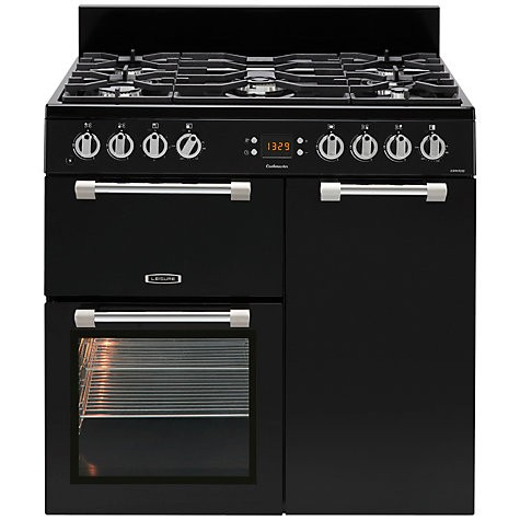 Leisure CK90F232-K 90CM DUAL FUEL RANGE BLACK