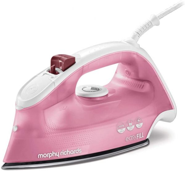 MORPHY RICHARDS 300291 STEAM IRON 2400W PINK