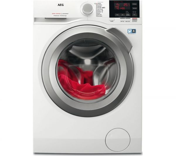 AEG L6FBG142R 10KG 1400 SPIN WASHING MACHINE A+++