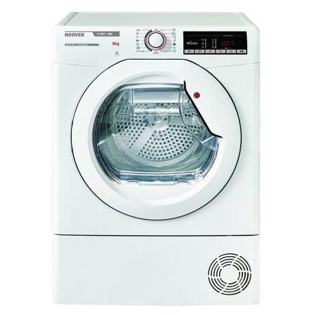 HOOVER HLXC9TE 9KG CONDENSER TUMBLE DRYER WHITE