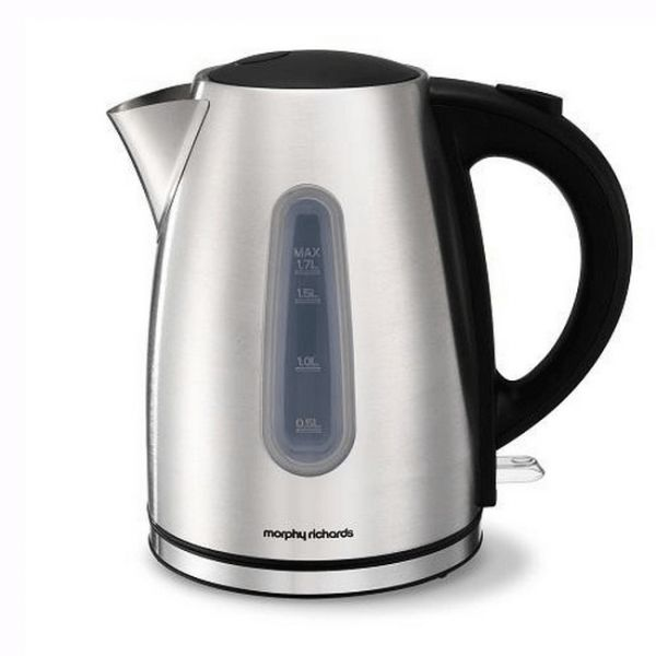 MORPHY RICHARDS 980549 JUG KETTLE POLISHED STEEL