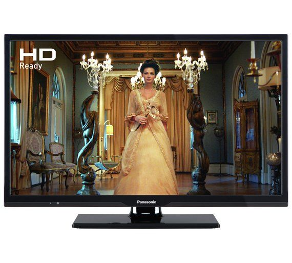 PANASONIC TX24E302B 24 Inch HD READY FREEVIEW HD LED
