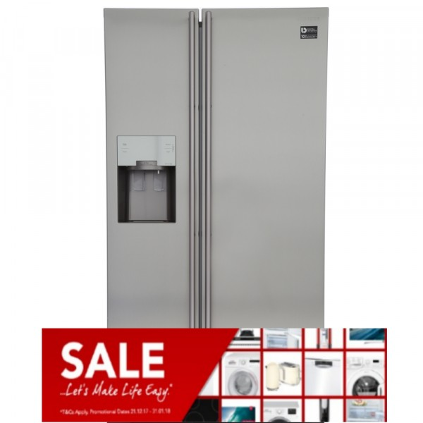 Samsung RS7567BHCSL American fridge freezer