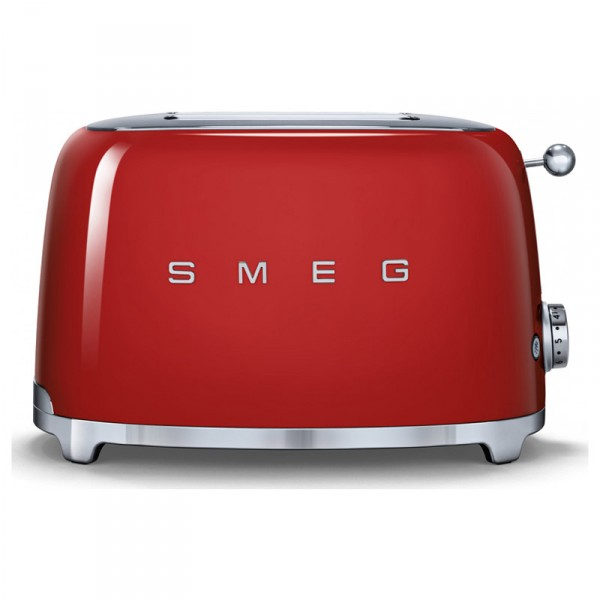 Smeg TSF02RDUK Red 4 Slice toaster