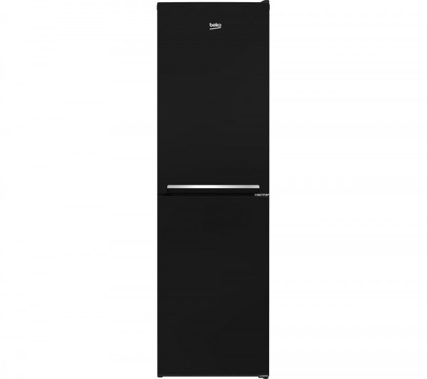 Beko CSG1582B Black Static Fridge Freezer