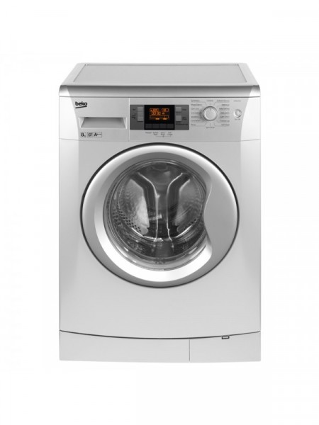 Beko WMB81243LS 8kg 1200rpm Silver Washing Machine