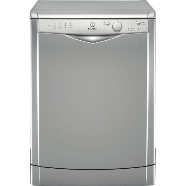 INDESIT DFG15B1S 13 PLACE DISHWASHER SILVER A+
