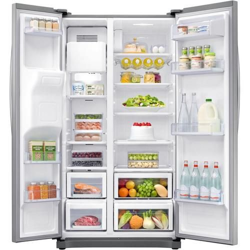SAMSUNG RS50N3513SL AMERICAN FRIDGE FREEZER ICE/WATER A+
