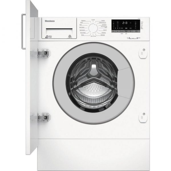 BLOMBERG LWI28441 8KG INTEGRATED WASHING MACHINE 1400 SPIN