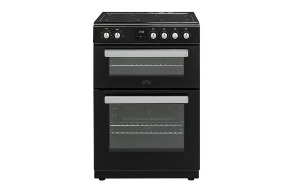 BELLING BFSE60PBK60CM DOUBLE OVEN CERAMIC BLACK