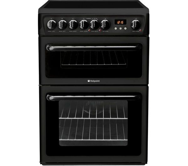 Hotpoint HAE60KS Cooker Double Oven Ceramic 60cm
